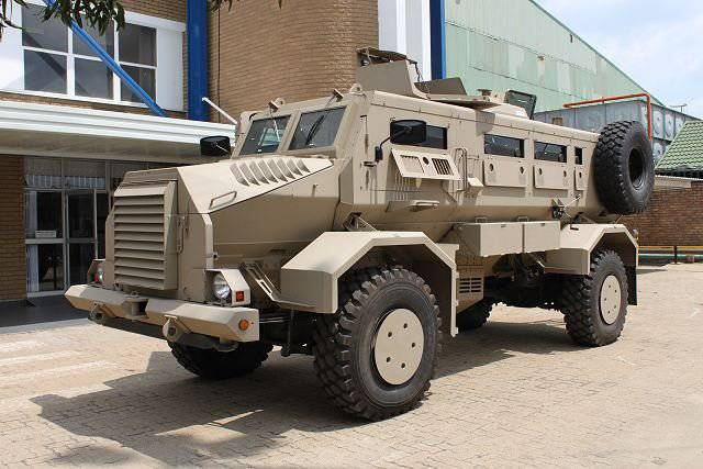The new generation of MRAP Casspir raises standards for mine protection cars