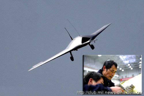 China has created an analog drone RQ-170