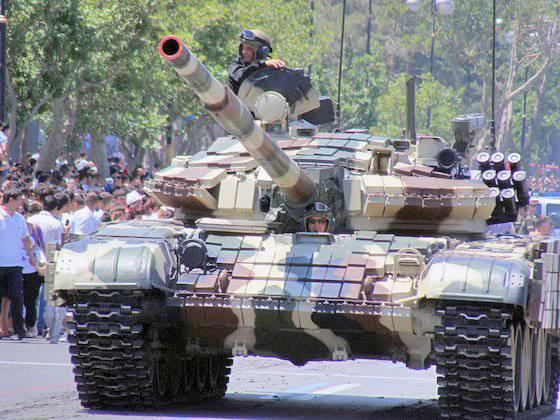 Versión azerbaiyana de la modernización del tanque T-72 al nivel de Aslan.
