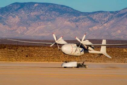 Il drone americano all'idrogeno impara a rilevare i razzi