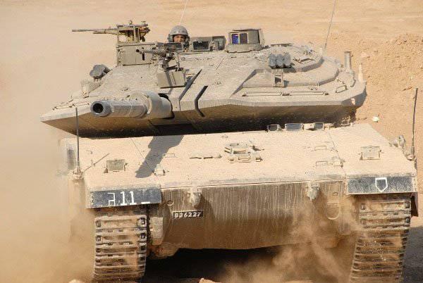 """主战车AOI""""Merkava Mk.4""""的建设性漏洞"""