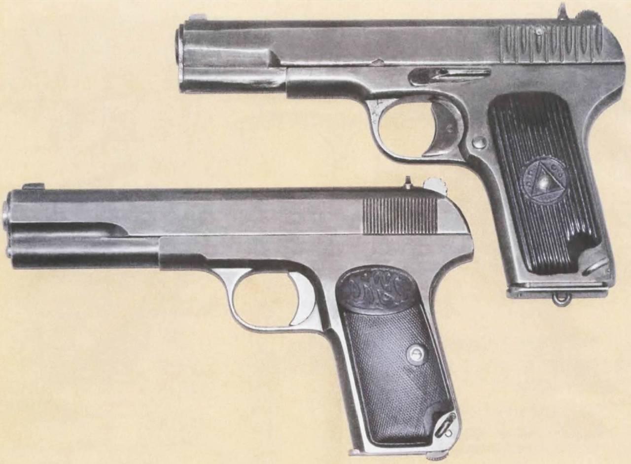 схема пистолет 1906