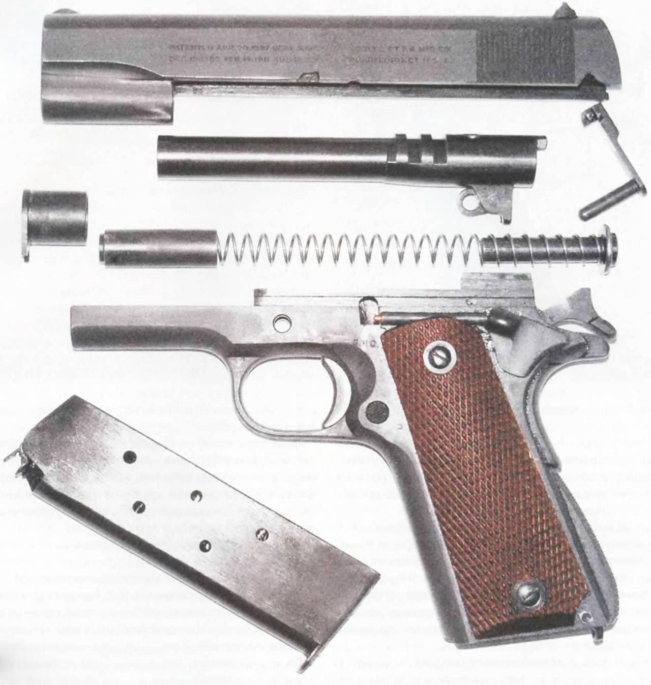 пистолет тт схема