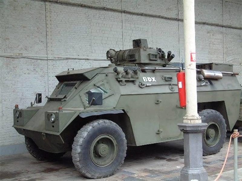Irische Fahrzeuge für den Export: Timoney Panzerwagen
