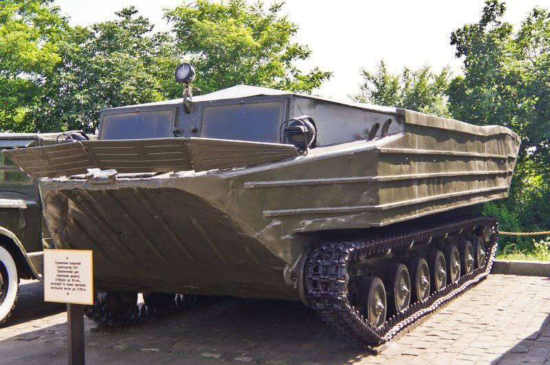 Convogliatore galleggiante cingolato K-61