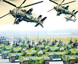 China ist bereit für einen großen Krieg
