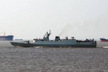 La Chine lance les corvettes du projet 056
