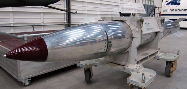 Kiloton-Klassenwettbewerb. Russische Bombe RS-26 gegen die amerikanische B-61