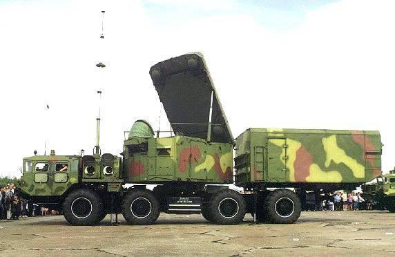 Зенитная ракетная система С-300П