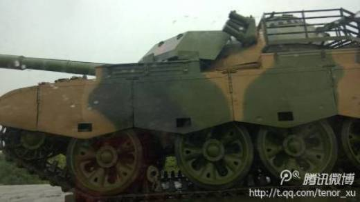 China has once again upgraded a clone of the Soviet T-54