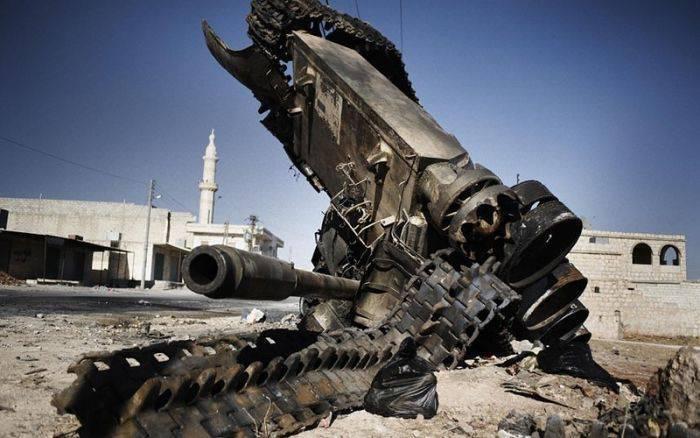 La guerre en Syrie - être! Et la raison?