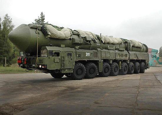 Ingenieure für die Einheiten der Strategic Missile Forces mit Yars-Mobilkomplexen werden in Tjumen ausgebildet