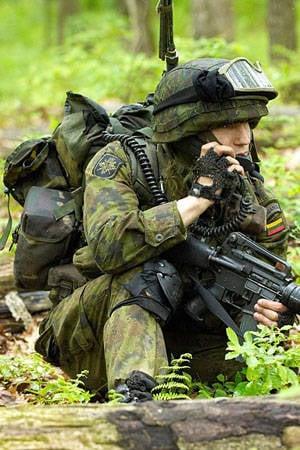 Nur mit Hilfe der NATO-Streitkräfte kann die litauische Armee die Sicherheit ihres Territoriums beruhigen