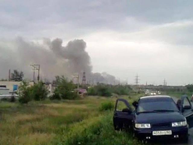 萨马拉附近的爆炸:炮弹不会消退