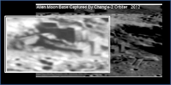 """""""चांग-एक्सएनयूएमएक्स"""" से चंद्रमा की सतह की एक अजीब तस्वीर"""