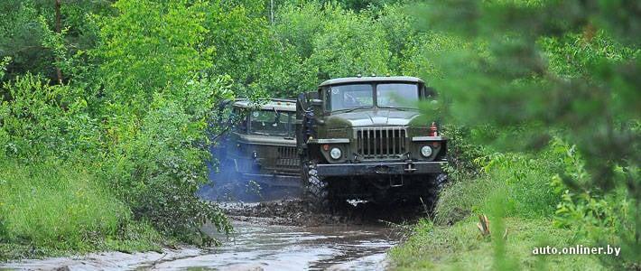 Militärische Probefahrt: Was können die stillgelegten Ural- und KAMAZ-Lkw?