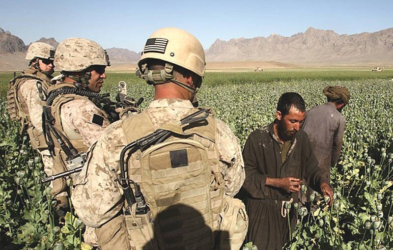 Afghan triumph of the American drug business