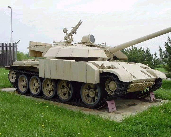 Иностранные модернизация танков т 54 55