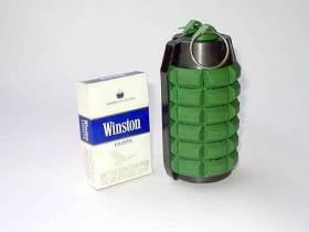 """La granada de Kevlar no letal B-10 fue creada por la empresa de investigación y producción ucraniana """"VALAR"""""""