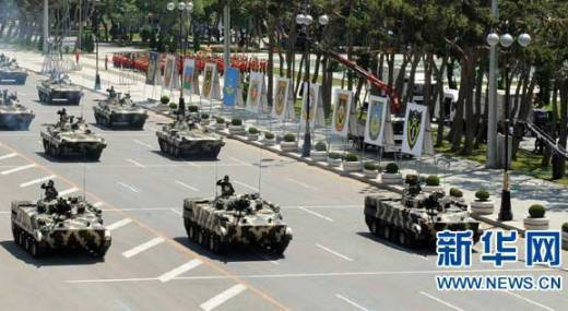 Azerbaijan received a more advanced modification of the BMP-3, which is in service with the Russian army