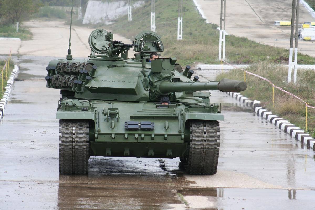 Румынский «потомок» Т-55: средний танк TR-85M1 » Военное