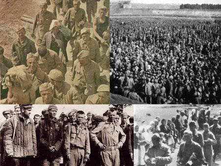सोवियत सैनिकों पर कब्जा करने के बारे में सच्चाई