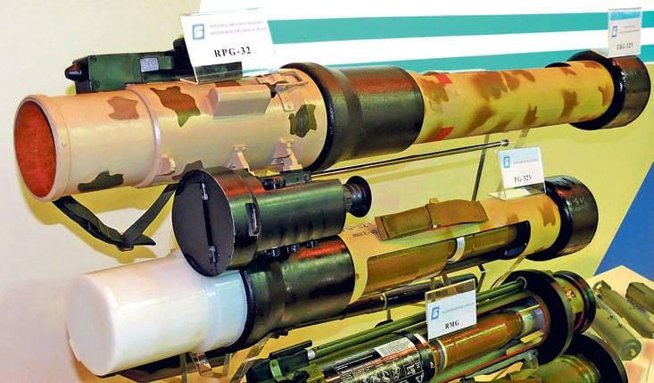 Lançador de granadas de curta duração. Tendências de desenvolvimento de armas corpo a corpo