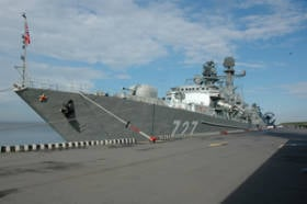 In St. Petersburg, everything is ready for the opening of the 6 International Maritime Defense Exhibition IMDS-2013