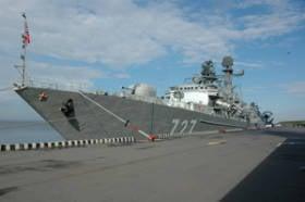 In St. Petersburg ist alles bereit für die Eröffnung der 6 International Maritime Defense Exhibition IMDS-2013