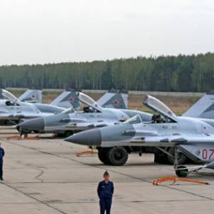 Russian military air base in Belarus