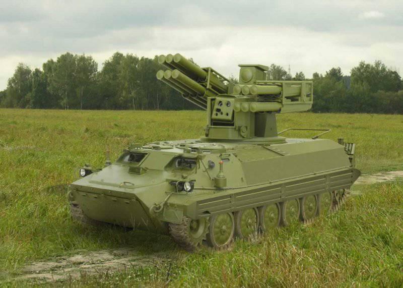 Новый зенитный ракетный комплекс «Сосна» представлен в Смоленске