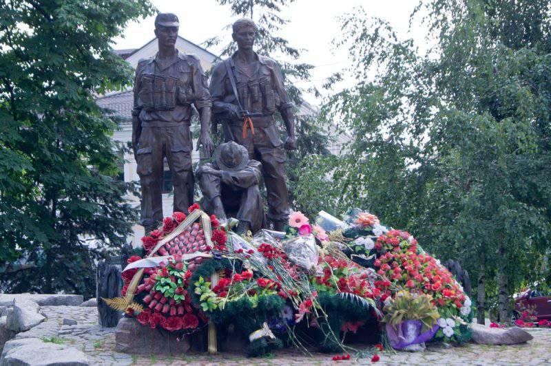 Monumento ai soldati-internazionalisti morti in Afghanistan