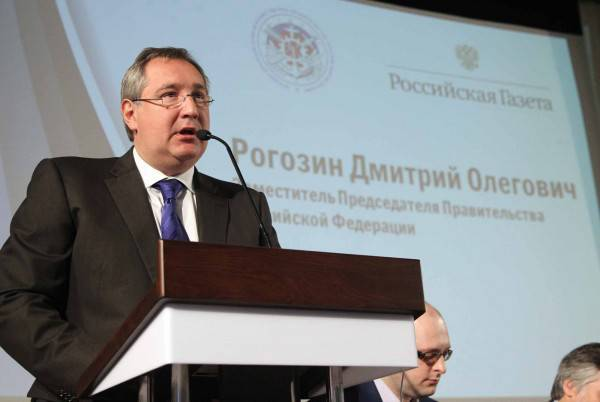 "BEFORE. Rogozin: ""To be strong: guarantees of national security"""
