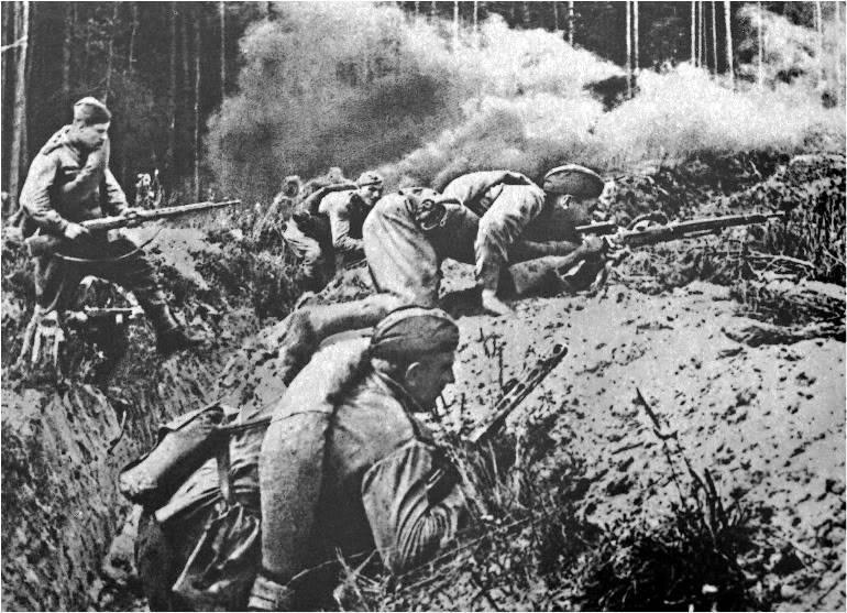 库尔斯克附近一支军队的日常生活(70军队)