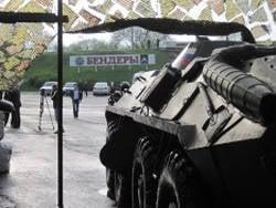 Rumänische Truppen in Moldawien