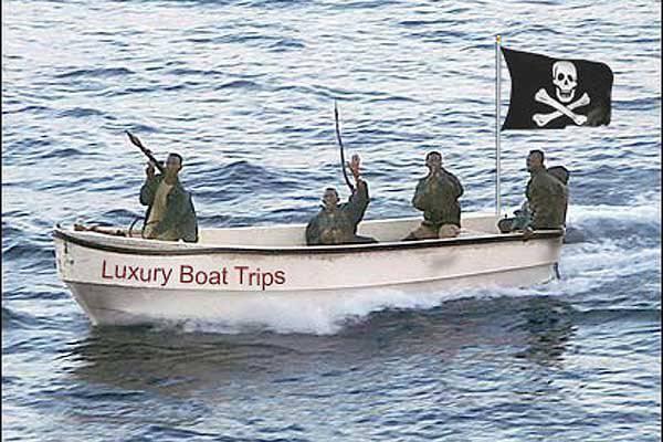 소말리아 해적의 붕괴