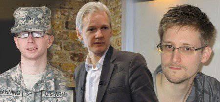 Snowden, Assange, Manning