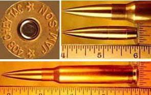 Chey Tac .408 Patrone und THOR M408 Gewehr
