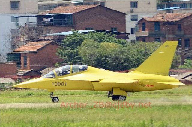 China introduced competitor Yak-130