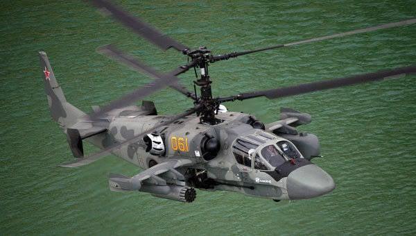 新型Ka-52Kは折りたたみ式ブレードを装備