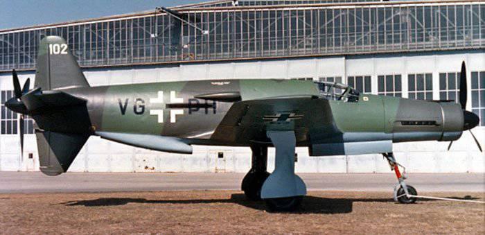 """Do-335 """"Pfeil"""" - l'avion à piston le plus rapide de l'histoire"""