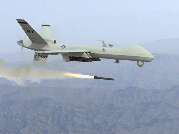 US drone destroyed 17 man in Pakistan