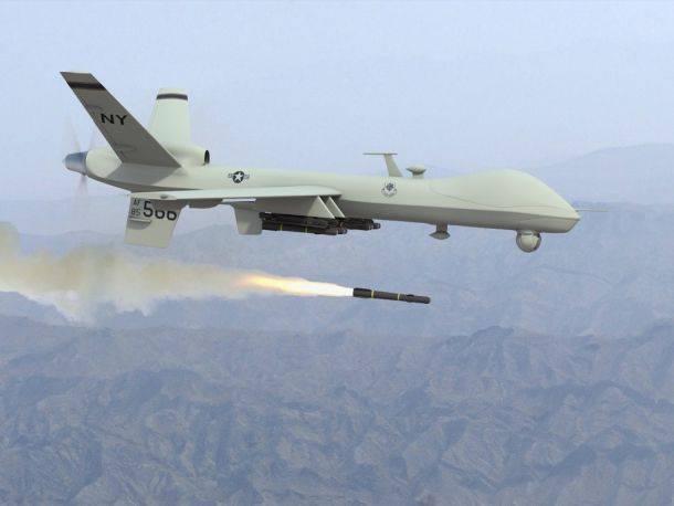 अमेरिकी ड्रोन 17 लोगों को पाकिस्तान में मारता है