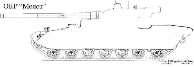Бронетехника Украины 5 Объект 477 Молот