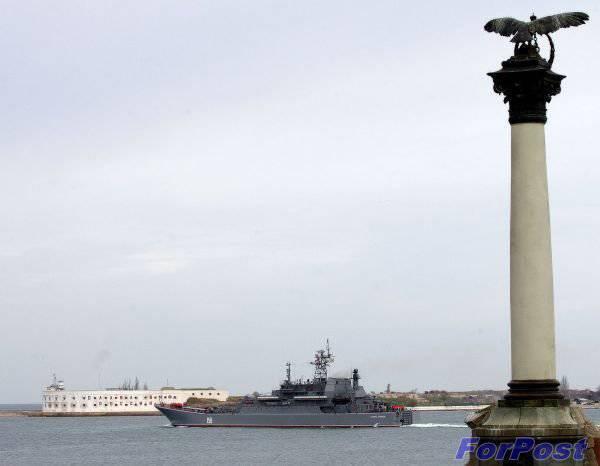 バルナのBDK黒海艦隊「シーザークニコフ」修理