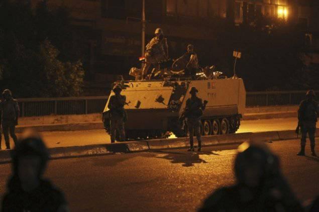 L'Egitto sulla strada per la guerra civile siriana