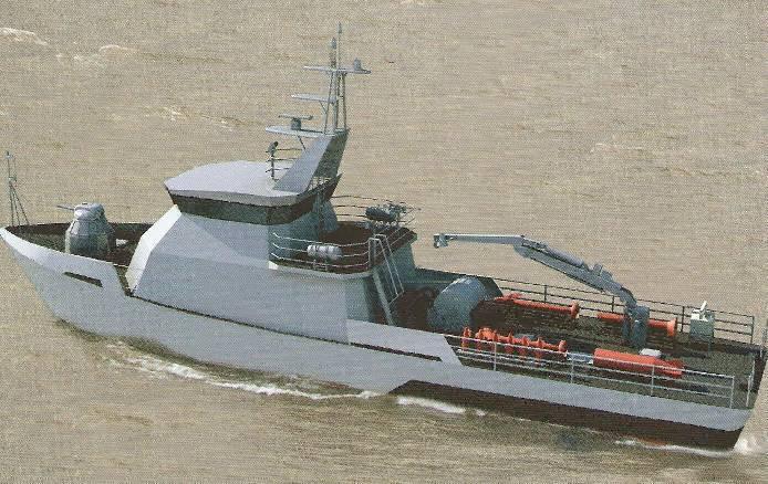 10750E raid minesweeper para o Cazaquistão