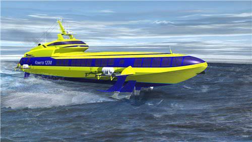 купить импортное судно на подводных крыльях