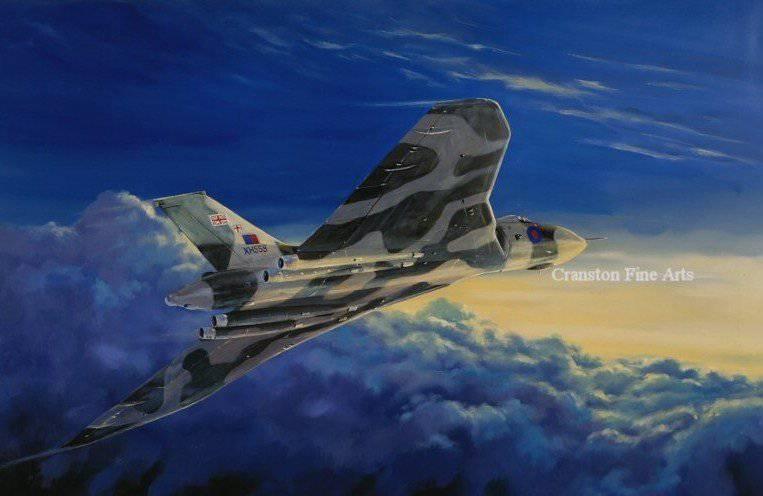 Kara geyik Falkland Savaşında Temel Havacılık
