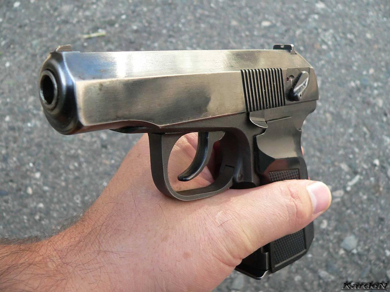 простейшая схема огнестрельного оружия